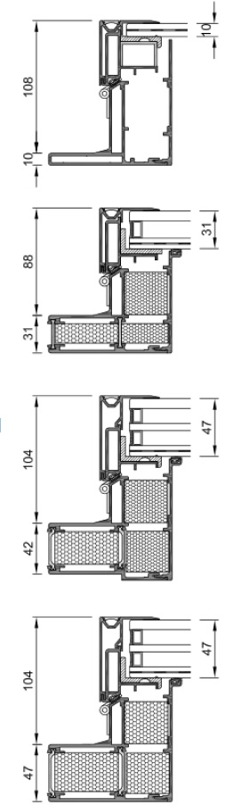 Dachfenster Alu Rahmen